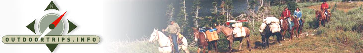 Rocky Mountain High - Horse Packing Vacation